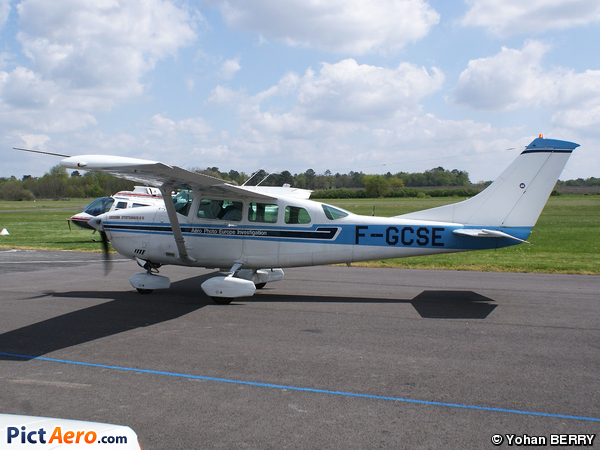 Cessna TU206G Turbo Stationair 6 II  (AERO PHOTO EUROPE INVESTIGATION / APEI)