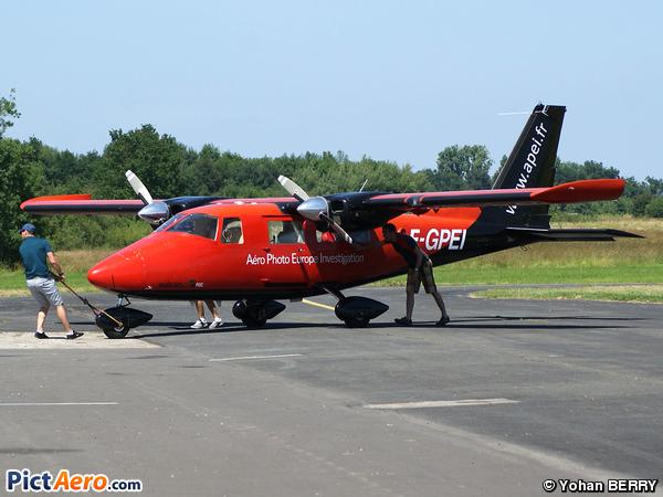 Vulcanair p-68c ( S.A Aéro Photo Europe Investigation)