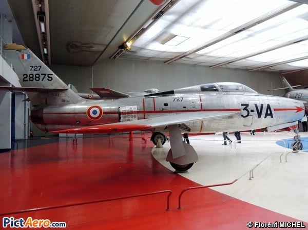 Republic F-84F Thunderstreak (Musée de l'Air et de l'Espace du Bourget)