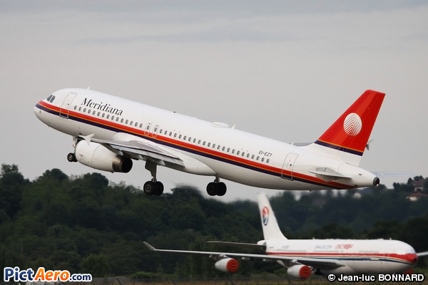 Airbus A320-232 (MERIDIANA)