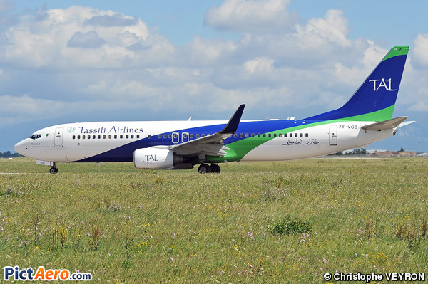 Boeing 737-8ZQ (Tassili Airlines)