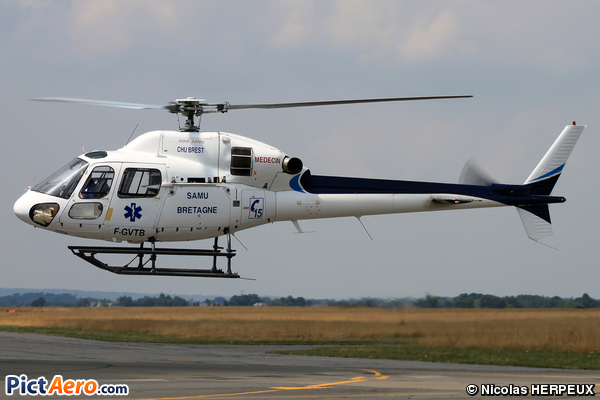 Aérospatiale AS-355N Ecureuil 2 (MBH SAMU)