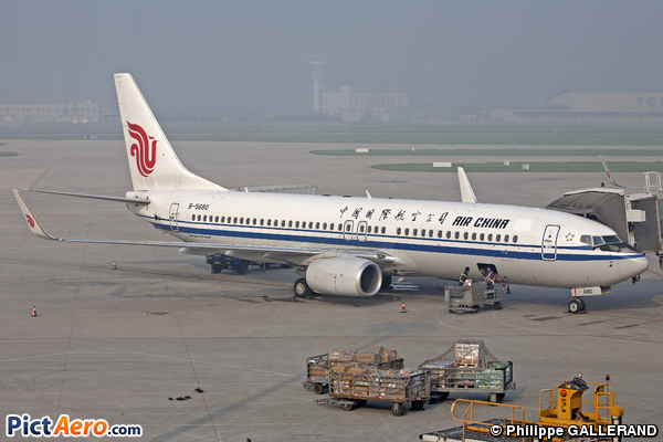 Boeing 737-89L (Air China)