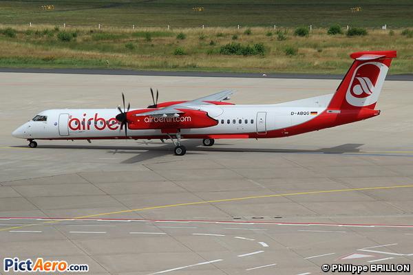 De Havilland Canada DHC-8-402Q Dash 8 (LGW Luftfahrtgesellschaft Walter)