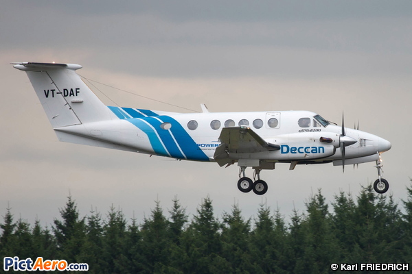 Raytheon B200 King Air (Deccan Charter Ltd)