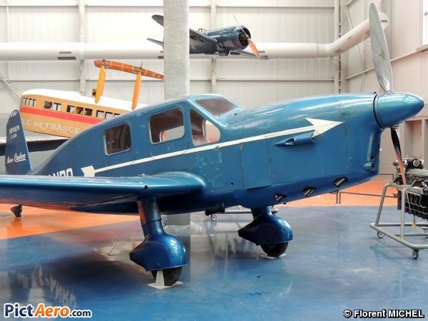 Caudron C-630M Simoun (Musée de l'Air et de l'Espace du Bourget)