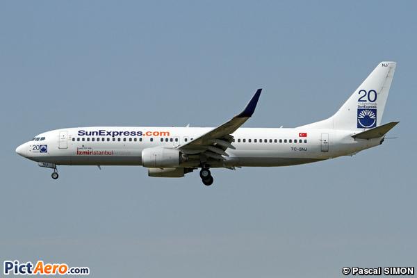 Boeing 737-86J/WL (SunExpress)