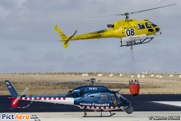 Eurocopter AS-355NP Ecureuil 2 (Spain - Government of Catalonia)