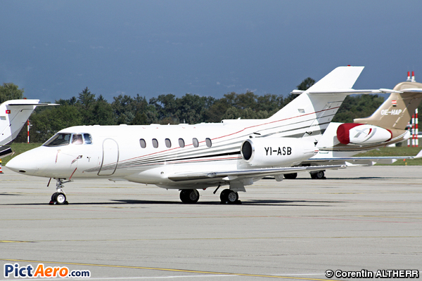 RAYTHEON HAWKER 800 XP (Private)