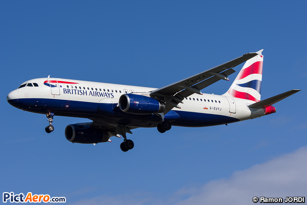 Airbus A320-232 (British Airways)