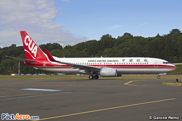 737-89P (China United Airlines)
