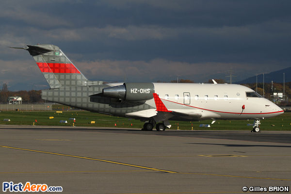Canadair CL-600-2B16 Challenger 601-3A (Private)