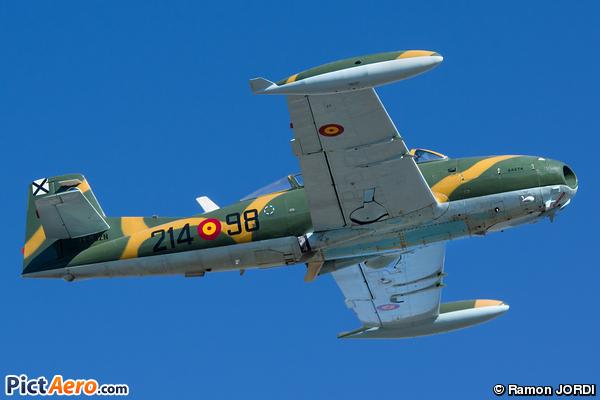 Hispano HA-100/200/220 Saeta/Super Saeta (Fundacio Parc Aeronautic de Catalunya)