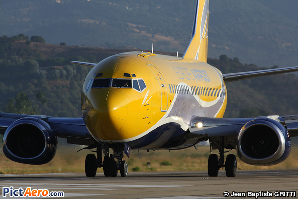 Boeing 737-38D/QC (Europe Airpost)