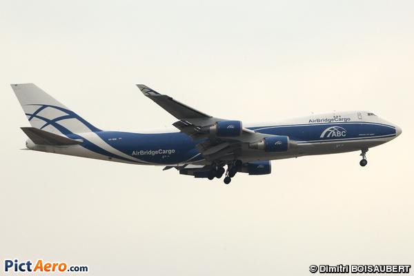 Boeing 747-4KZF (Air Bridge Cargo Airlines)
