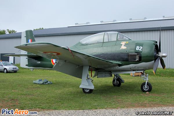 North American T-28A Fennec (Strasbourg Aviation SARL)