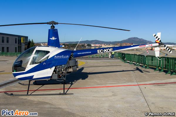 Robinson R-22 Beta (Aero Club barcelona-Sabadell)
