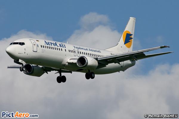 Boeing 737-448 (AeroSvit Ukrainian Airlines)