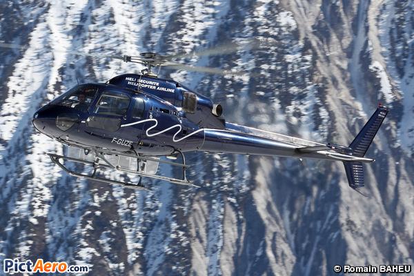 Aérospatiale AS-355N Ecureuil 2 (Héli Securité - Helicopter Airline)