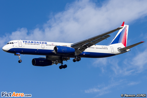 Tupolev Tu-214 (Transaero Airlines)