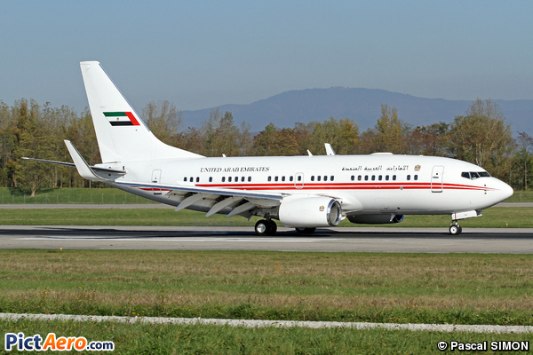 Boeing 737-7E0/BBJ (United Arab Emirates - Dubai Air Wing)