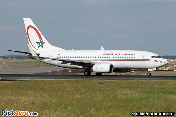 Boeing 737-7B6/WL (Royal Air Maroc (RAM))