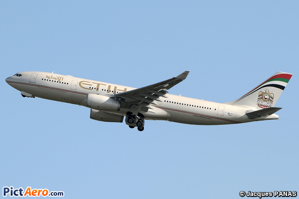 Airbus A330-223 (Etihad Airways)