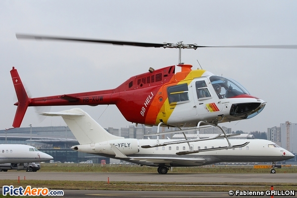 Agusta-Bell AB-206B-3 JetRanger III (BB Heli)