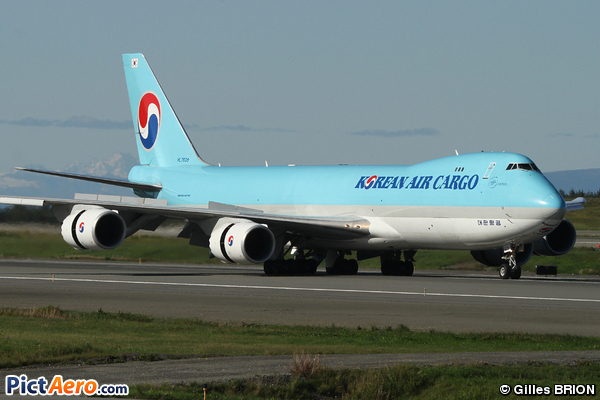Boeing 747-8F korean Air