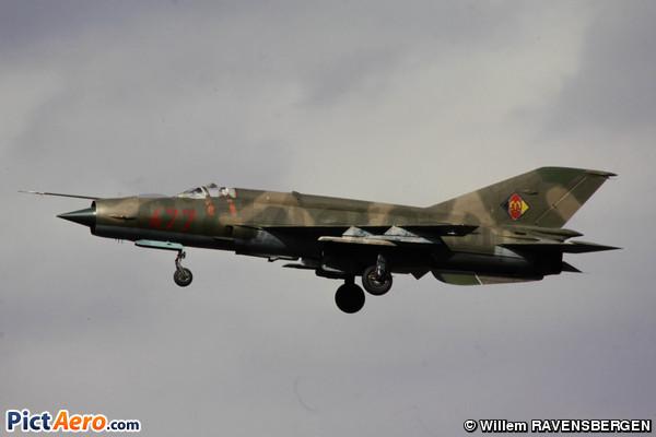 Mikoyan-Gurevich MiG-21MF (Germany - Air Force)