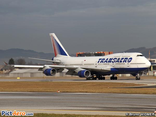 Boeing 747-446 (Transaero Airlines)