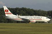 Boeing 737-7H3/BBJ (TS-IOO)