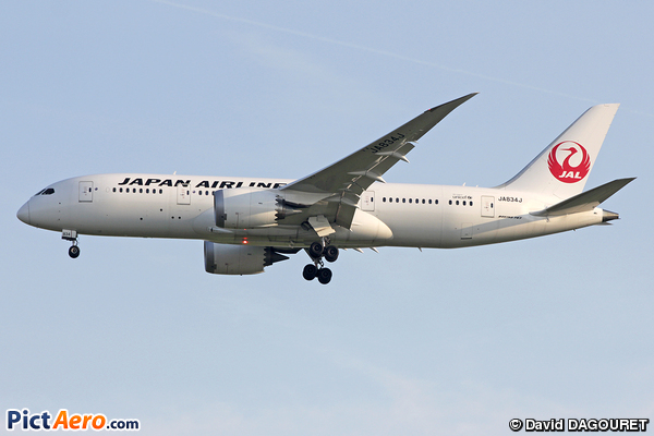Boeing 787-8 Dreamliner (Japan Airlines (JAL))