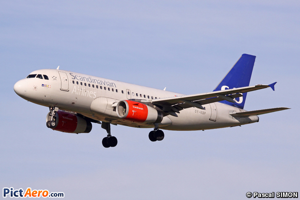 Airbus A319-132 (Scandinavian Airlines (SAS))
