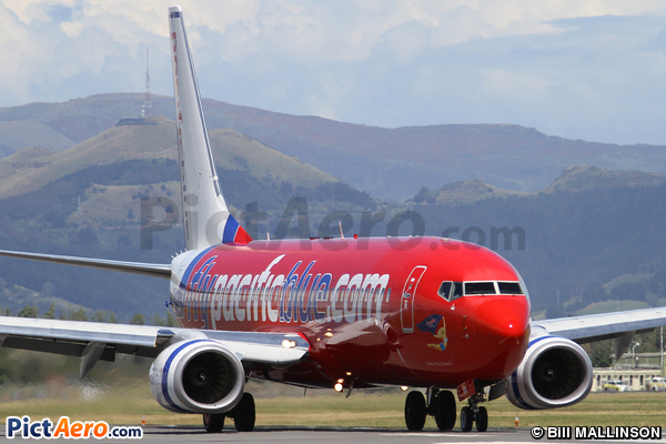 Boeing 737-8FE  (Pacific Blue Airlines)