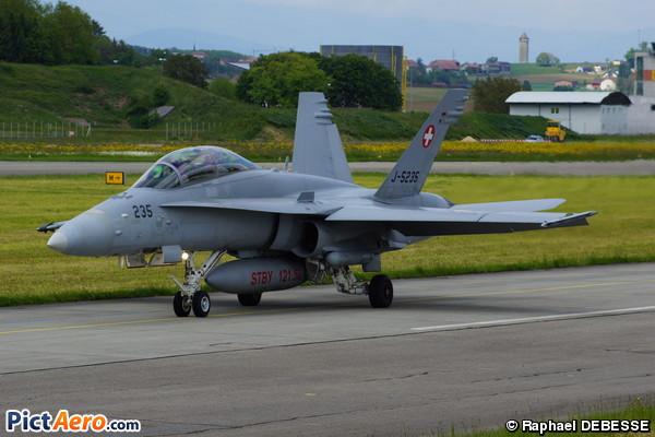 McDonnell Douglas F/A-18D Hornet (Switzerland - Air Force)