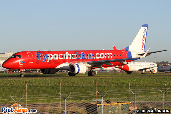 Embraer ERJ-190IGW (ERJ-190-100IGW) (Pacific Blue Airlines)
