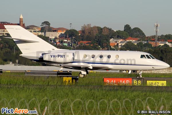 Dassault Falcon (Mystere) 20F-5  (Business Aviation Solutions Pty Ltd)