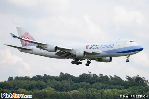 Boeing 747-409F/SCD (China Airlines Cargo)