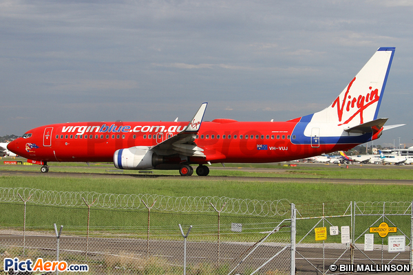 Boeing 737-8FE  (Virgin Blue Airlines)