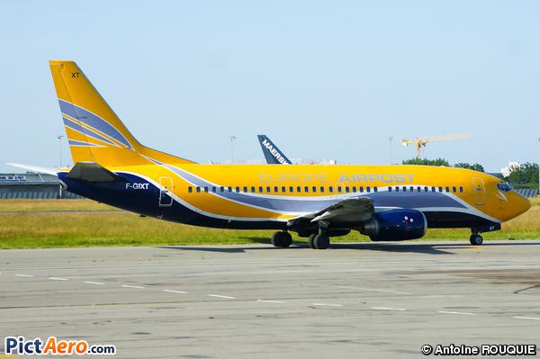 Boeing 737-39M/QC (Europe Airpost)