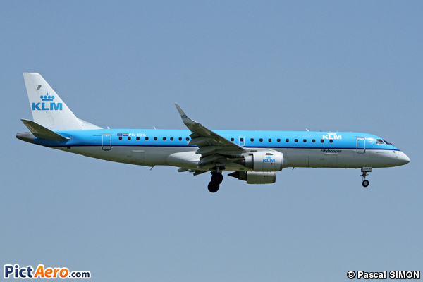 Embraer ERJ-190 STD (KLM Cityhopper)
