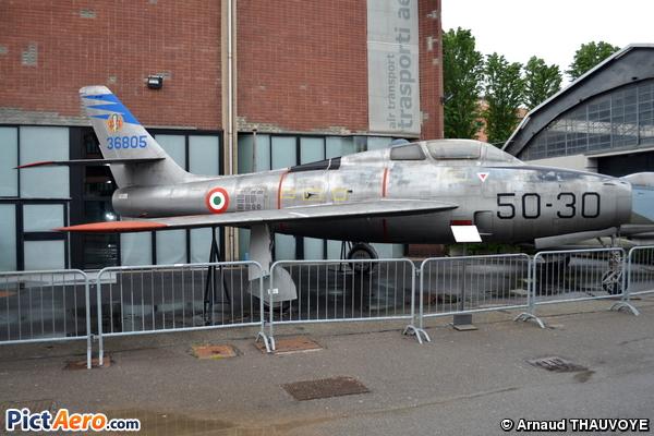 Republic F-84F Thunderstreak (Italy - Air Force)