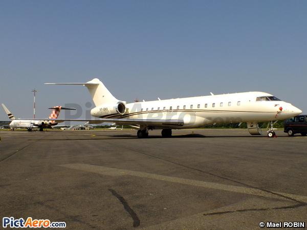 Bombardier BD-700 1A10 Global Express XRS (Polet Flight)
