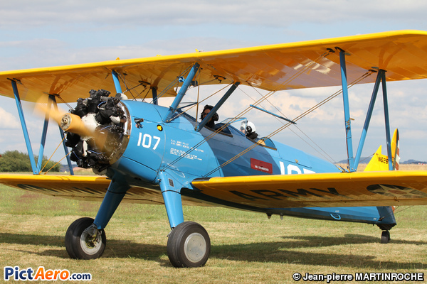 Boeing PT-17 Kaydet (A-75/N1 Stearman) NS2-3 (Private)