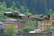 De Havilland DH-115 MK 55 Vampire Trainer  (HB-RVJ)