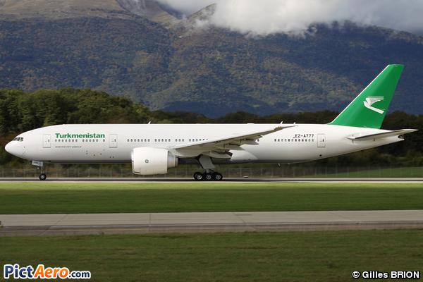 Boeing 777-22K/LR (Turkmenistan Airlines)