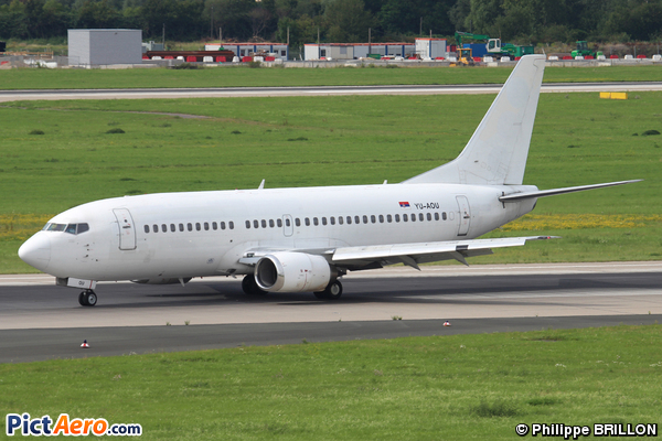 Boeing 737-322 (Air Serbia)