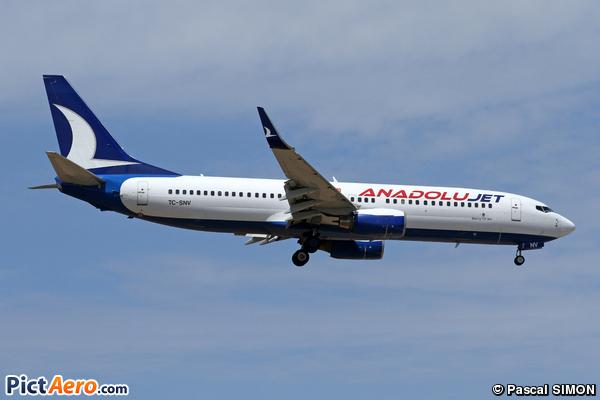 Boeing 737-86J/WL (Anadolu Jet)