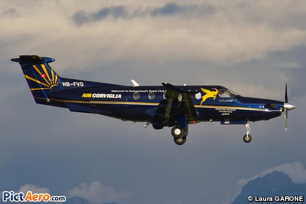 Pilatus PC-12/47 (Air Engiadina)